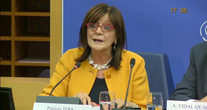 پاتریشیا توآیا عضو پارلمان اروپا از ایتالیا