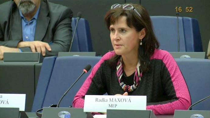 راتگا ماکسوا عضو پارلمان اروپا از چک