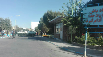 اراک.تجمع اعتراضی کارگران آذرآب و حمله گارد ضدشورش به کارگران با گاز اشکآور - ۱۵مهر۹۸