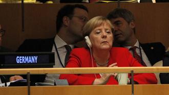 آنگلا مرکل در مجمع عمومی ملل متحد - عکس از آرشیو