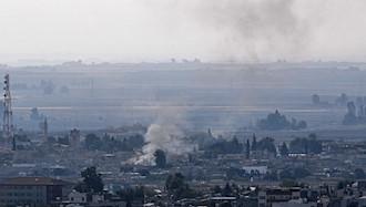 حمله ترکیه به مناطق کردها در سوریه