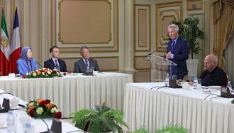 سخنرانی مریم رجوی در جلسهیی با حضور منتخبین فرانسوی