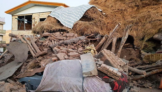 زلزله میانه و سراب