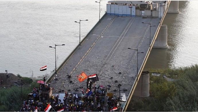 پل سنک بغداد سنگر مقدم جوانان عراق