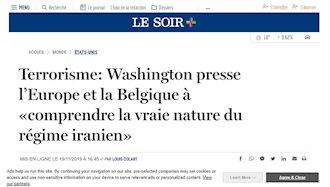 روزنامه بلژیکی لوسوار