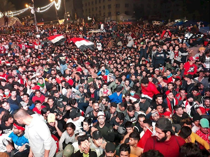 تصویری از میدان تحریر ۸آذر۹۸
