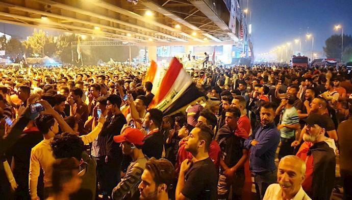 تظاهرات مردم عراق - بابل - حله