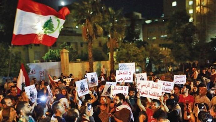 مخالفت جنبش مردمی لبنان با ترکیب سیاسی کابینه آینده
