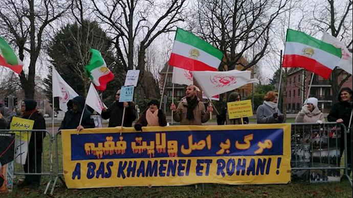 حمایت از قیام سراسری مردم ایران - بروکسل