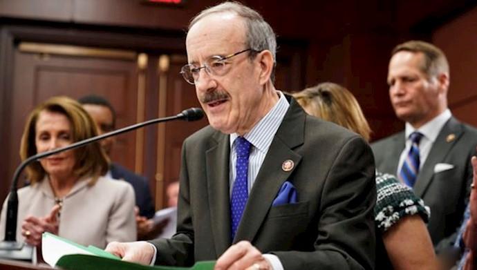 الیوت انگل رئیس کمیته روابط خارجی مجلس نمایندگان آمریکا