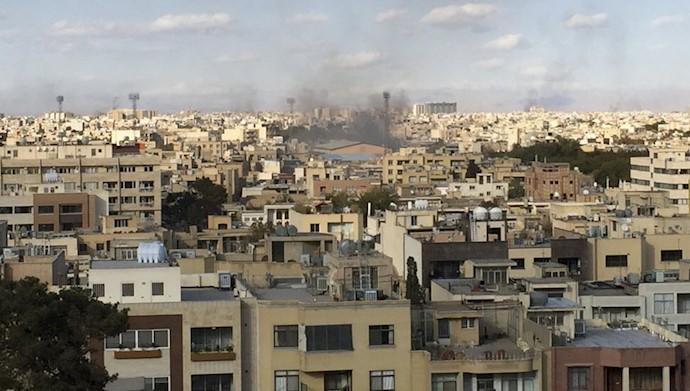 قیام سراسری ایران- به آتش کشیدن مراکز رژیم آخوندی