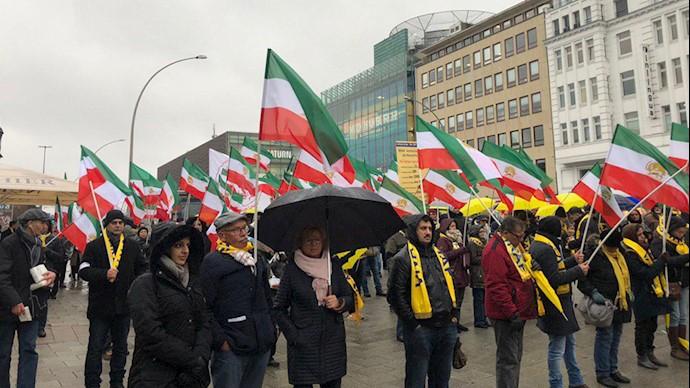 حمایت از قیام سراسری مردم ایران -هامبورگ