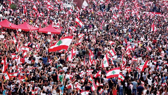 تظاهرات لبنان - عکس از آرشیو