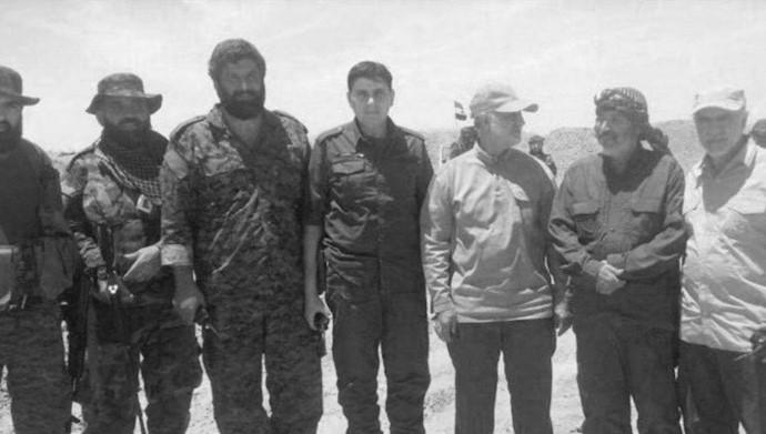 شبه نظامیان  رزیم در عراق -عکس از آرشیو