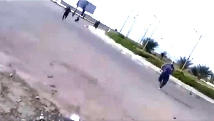 کشتار جوانان معترض در ماهشهر