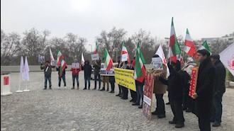 حمایت از قیام سراسری مردم ایران - وین