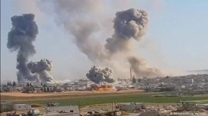 انهدام زاغههای تسلیحات سپاه پاسداران در سوریه