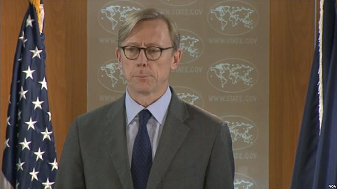 برایان هوک نماینده ویژه آمریکا برای ایران