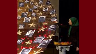 گرامیداشت چهلم بیش از ۱۵۰۰شهید قیام سراسری در اشرف ۳