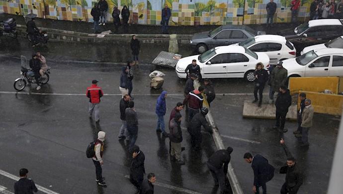 قیام مردم ایران- ۲۵آبان۹۸