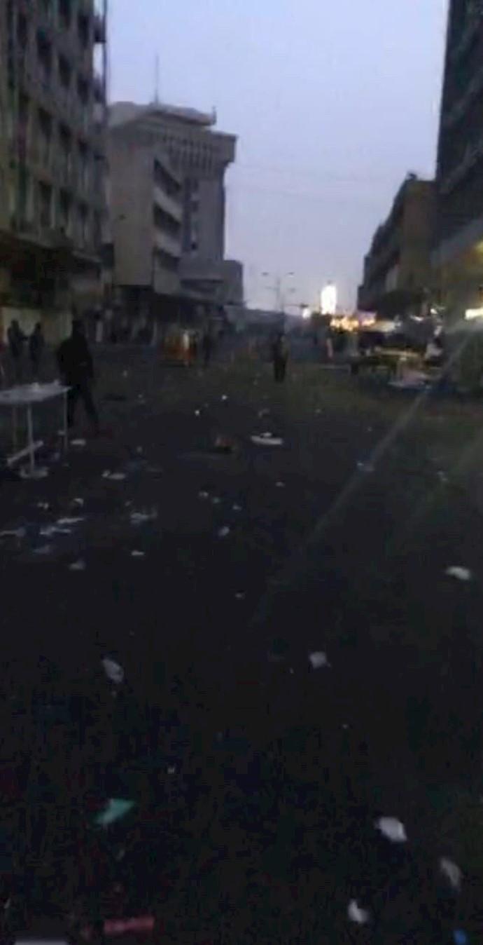 بغداد -پل سنک در دست انقلابیون