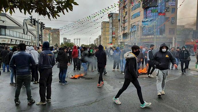 قیام سراسری مردم ایران- آبان۹۸