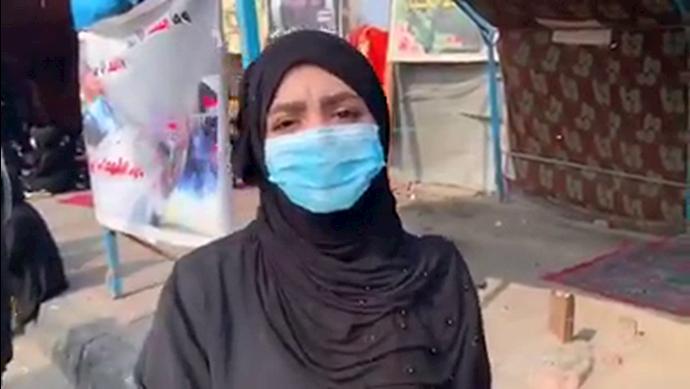 سخنان پرشور دختر عراق- ایران اخراج اخراج