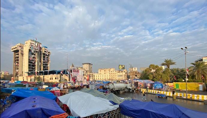 بغداد- میدان تحریر - کوه احد (مطعم الترکی)