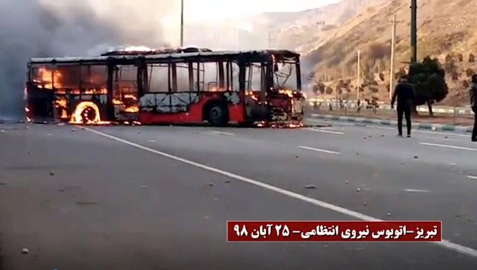 اعتراضات در تبریز