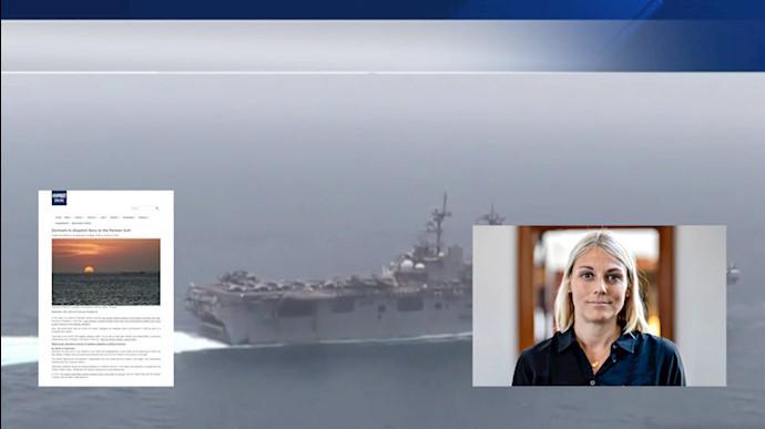دانمارک به ائتلاف نظامی اروپا در خلیجفارس پیوست
