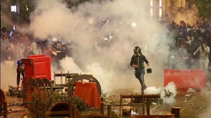 درگیریها در لبنان