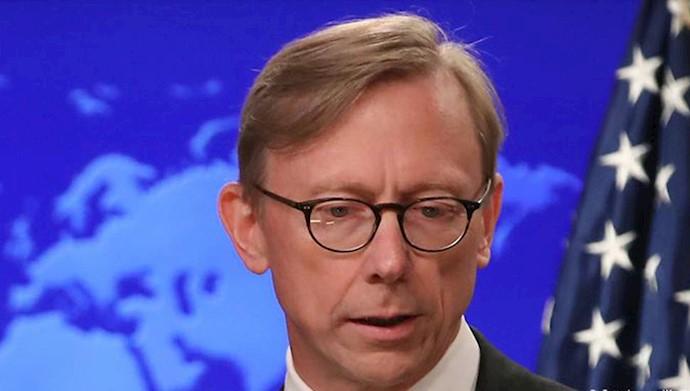 برایان هوک نماینده ویژه آمریکا در امور ایران