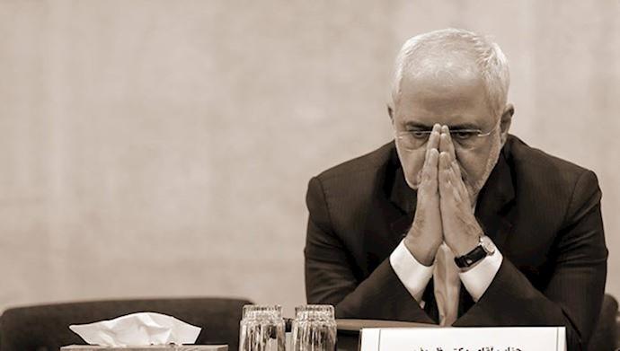 جواد ظریف وزیر خارجه آخوندها
