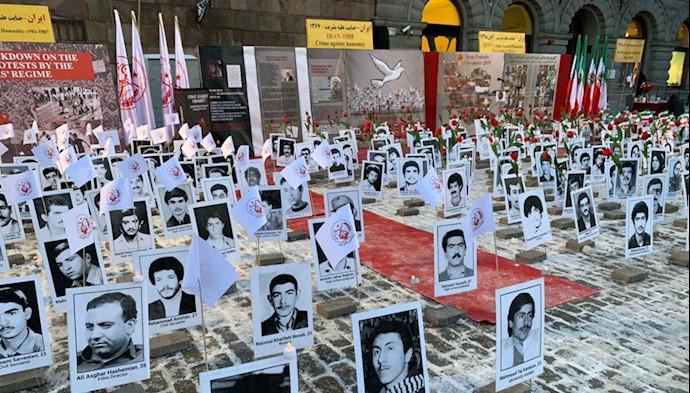استکهلم - حمایت از قیام سراسری ایران