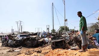 انفجار تروریستی در مگادیشو پایتخت سومالی