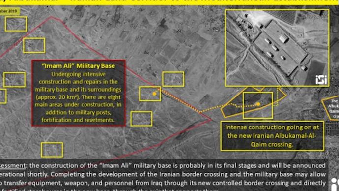 تصاویر ماهوارهیی تونلهای رژیم ایران برای انبار کردن موشکها در سوریه