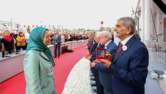 صمد ساجدیان - مریم رجوی