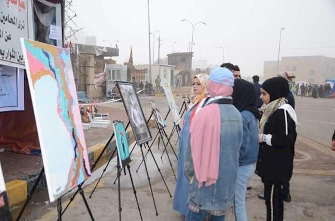 تجمع و راهپیمایی دانشجویان و دانشآموزان استان میسان