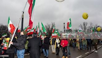 تظاهرات مقاومت ایران در ورشو - تصاویر سایت گتی ایمیج