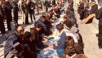تجمع اعتراضی غارت شدگان سکه ثامن