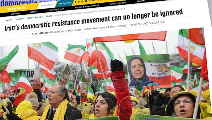 تظاهرات ایرانیان در ورشو لهستان ۲۴ بهمن ۹۷