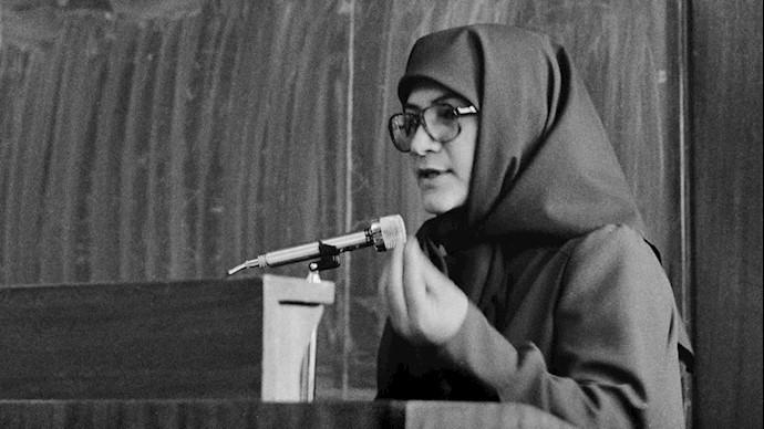 اشرف رجوی، سمبل زن انقلابی مجاهد