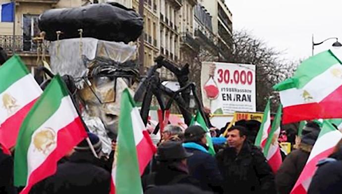 مانیتور فعالیتهای اپوزیسیون ایرانی مجاهدین خلق طی ۴روز