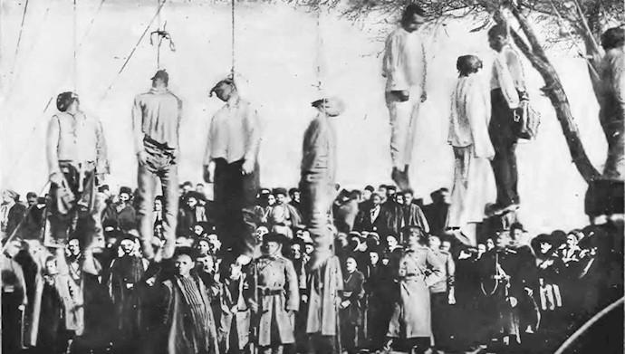 اشغال تبریز بهدست قوای روس و اولین کشتار روسها در تبریز - جمعه ۱۳۳۰ هجری قمری برابر با ۱۲۹۰شمسی
