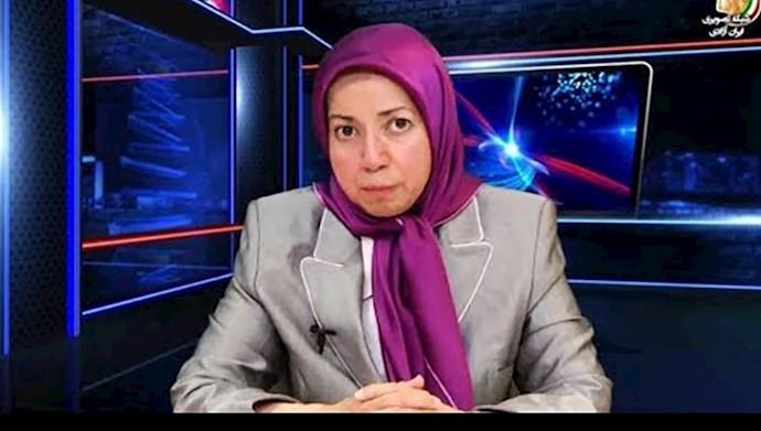 گفتگوی اسکای نیوز با خانم دولت نوروزی درباره تظاهرات ایرانیان در ورشو