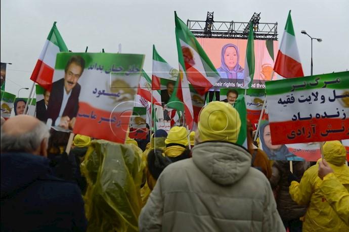 تصاویری از تظاهرات ایران آزاد در ورشو توسط خبرگزاری تصویری ا.پ.ا