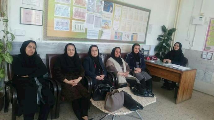تحصن سراسری معلمان - شهرستان سقز- ۱۲اسفند۹۷