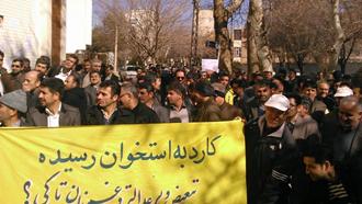 بازتاب اعتصاب قدرتمند معلمان
