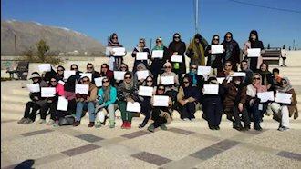 شیراز- تجمع زنان معلم و فرهنگی به مناسبت روز جهانی زن