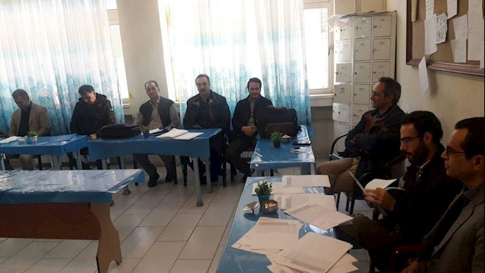 تحصن سراسری معلمان - استان قزوین ۱۲اسفند۹۷